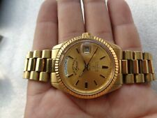 RARE SWISS GOLD PLATED OYSTER MODEL WEST END WATCH SOWER MEN'S AUTOMATIC WATCH