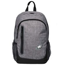 Philadelphia Eagles BackPack Back Pack Book Sports Gym School Bag Heather Grey
