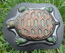 "1/8th"" plastic turtle stepping stone mold  13"" x 11"" x 1.5"""