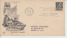 (FDC5X011) CANADA 1954 Canadian Postage Stamps Art Craft First Day Cover FDC