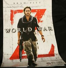 World War Z Brad Pitt Movie Poster-Double Sided  Full Color Movie Poster 11x17