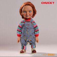 Chucky 78004 15 in (ca. 38.10 cm) NICE Happy Faccia Mega Ragazzi BAMBOLA PARLANTE Good Mezco