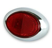 "4"" x 2.75"" Red 2 LED Side Marker Light indicators Truck Trailer Bus Universal"
