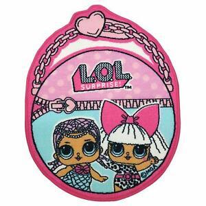 LOL Surprise Shaped Rug Children's Bedroom Pink - LSR