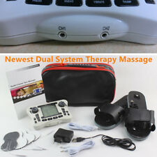 TENS Dual Channel Output Electrical Muscle Stimulator Digital Therapy Massager