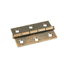 "One Pair- Antique Brass- 2-1/2"" x 1-11/16"" Butt Hinge"