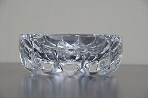 Cendrier en cristal Saint-Louis modèle ambassadeur clair St Louis