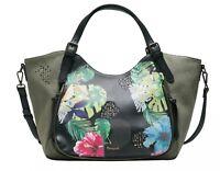 Desigual Lilac Rotterdam Shoulder Bag Umhängetasche Handtasche Tasche