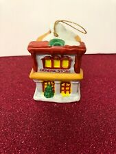 Nib 1995 Badcock Collectible Village Bell Ornament General Store