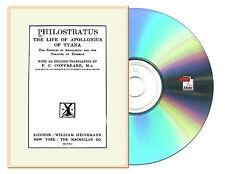 Philostratus, Life Of Apollonius Of Tyana ( Conybeare Loeb) Books 1 to 8 English