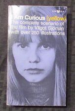 1968 I AM CURIOUS (YELLOW) 7th Grove Paperback B-184 VF- Vilgot Sjoman