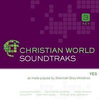 Shekinah Glory -  Yes  -  Accompaniment / Performance Track - New