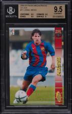 2004-05 Lionel Messi Panini Megacracks #71 Rookie RC BGS 9.5