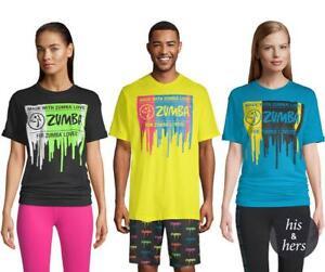Zumba Fitness Glow Tee T-Shirt