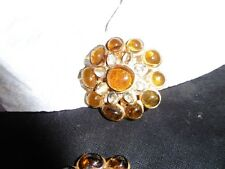 chanel earring vintage gripoix..rare big and amazing