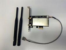 Intel Dual Band Wireless-AC 7260 for Desktop PCI-E Bluetooth 4.0 ac/b/g/n Wifi