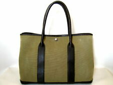 New listing Hermes Garden Party Pm The Real Thing Ghana Dark Brown Previously Owned No.5423