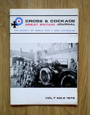 CROSS & COCKADE VOL.7 NO.2 1976 (Lt Frank Alberry DCM)
