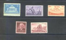US 1954 Commemoratives Year Set with 5 Stamps MNH