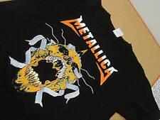 Metallica pushead shirt retro remake modern skull size L vtg
