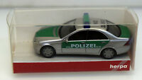 Herpa 1:87 045582 Mercedes-Benz C-Klasse Polizei Mainz
