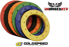 """(4) Goldspeed and DWT 9"""" and 10"""" Carbon Fiber Replacement Beadlock Rings"""