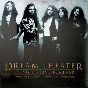 DREAM THEATER Dying To Live Forever In Concert 1993 Milwaukee Vol.2 NEW Vinyl LP