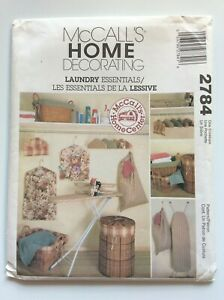 McCall's  2784  LAUNDRY ESSENTIALS....see details
