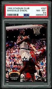 Shaquille O'neal Rookie Card 1992-93 Stadium Club #247 PSA 8.5