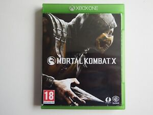 Mortal Kombat X on Xbox One in MINT Condition