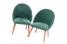 schöner alter Stuhl Vintage Retro chair 60er Jahre Sessel Lehne elastisch