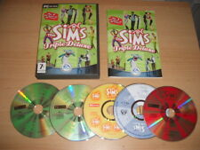 THE SIMS 1 TRIPLE DELUXE Inc. Livin it up + House Party + On Holiday Add-Ons Pc