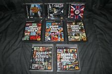 Grand Theft Auto 1 2 3 4 5 Vice City San Andreas London NEW! PS1 PS2 PS3 GTA III