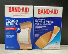 BAND-AID Flexible Fabric Bandages, Extra Large 19 Total (Pack of 2)