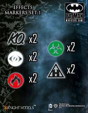 Knight Models-BATMAN gioco in miniatura-effetto Acrilico Marcatori Set MI