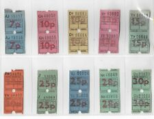GREATER GLASGOW PTE BUS / TRAM TICKETS X 16