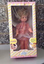 Vintage#80S Bambola Doll Migliorati Cicalina New Nib