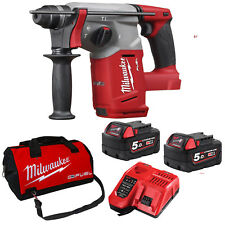 Milwaukee 18V Fuel Cordless M18 Brushless SDS Plus Rotary Hammer Drill Combo Kit