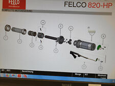 Original Ersatzteil Felco 820: Bild Position 8 Leiterplatte + 2 Schrauben
