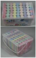 54x Straßenmalkreide in Stangen-Form in bunten Farben incl. Henkel Tragebox