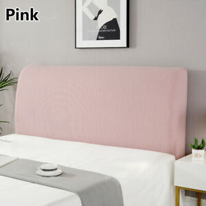 Headboard Slipcover Stretch Protector Cover Dustproof Elastic Bed Head Cover US
