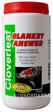 CLOVERLEAF BLANKET WEED ANSWER 800g POND BLANKETWEED TREATMENT GARDEN FISH KOI