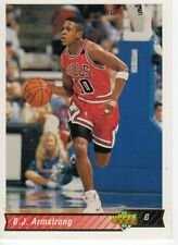 NBA Basketball Card Figurine 1992/93 NEW number 115 B. J. Armstrong