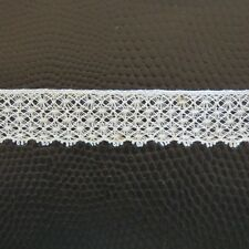 Antique Vintage COTTON LACE, England. New over 70 years old ,1m x 2 cm wide,