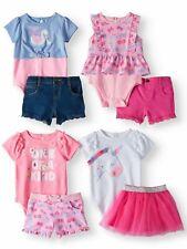 Garanimals Mix & Match Outfits Kid-Pack Gift Box 8pc Set  ASSORT (Baby Girls)BR1