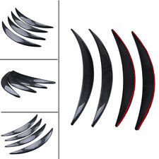 4PCS Universal Car Fender Flares Arch Wheel Eyebrow Protector mudguards Sticker