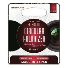 Marumi 77mm Fit Plus Slim Circular Polarizer Filter FTS77CIR, London