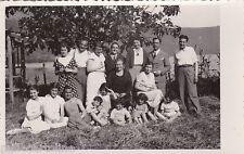 # FRASCATI: fotocartolina -OTT. 1931 FOTO FAMILIARE