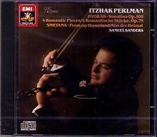 Itzhak PERLMAN DVORAK Violin Sonata Romances SMETANA From My Homeland CD SANDERS