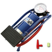 Foot Pump Tyre Single Barrel Cylinder Pump Air Inflator Inflation Inflate